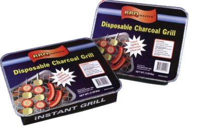 Disposal Charcaol Grill